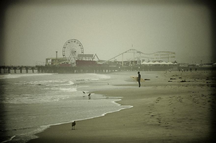 15.Santa-Monica-surfer - Guillaume Gaudet