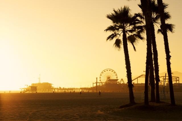 20. route_66_santa_monica_pier_sunset