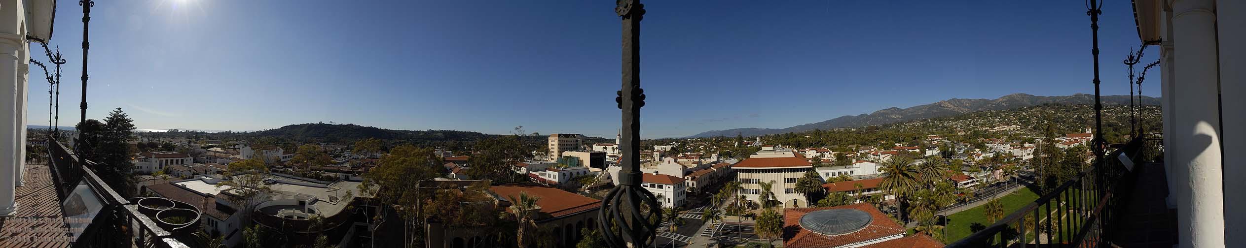Uma das facetas da vista da torre.