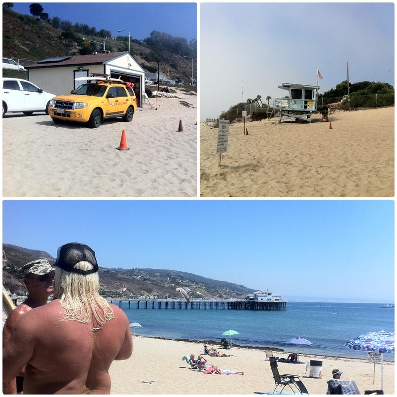 Clássicos das areias californianas.
