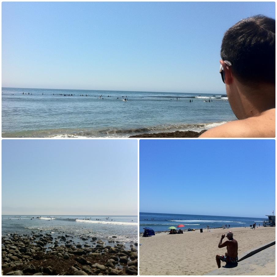 As ondas não apareceram.